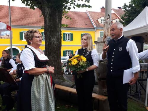Abschlussfeier Marktcafé - Christl