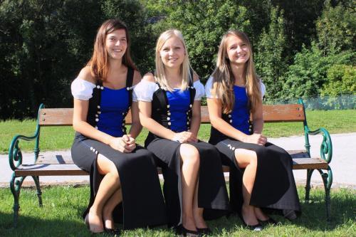 Marketenderinnen# Ein charmantes Trio als perfekte Unterstützung bei Ausrückungen.