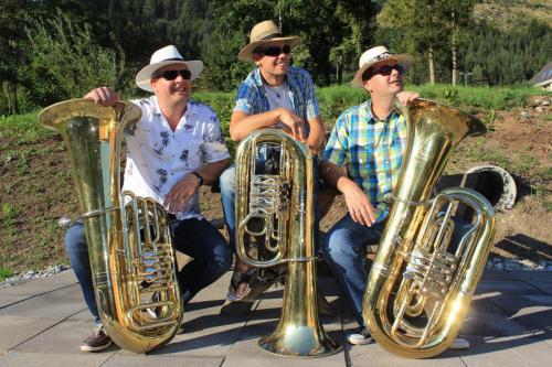 Tuba# Auch die tiefen Töne wollen mal hoch hinaus.